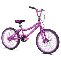"Kent 20"" Girls', 2 Cool BMX Bike, Satin Purple, For Ages 8-12"