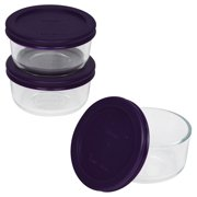 Pyrex Simply Store Glass Bakeware Round Set, 6 Piece