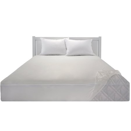 Mainstays Waterproof Fitted Soft Top Mattress Protector, 1 Each