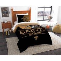 """NFL New Orleans Saints """"Draft"""" Bedding Comforter Set"""