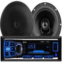 Boss Audio 636CK Mechless MP3 Digital Media Receiver/Speaker Package System
