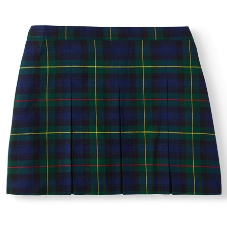 Wonder Nation Girls' School Uniform Plaid Parochial Skirt](Plaid Skirt Costume)