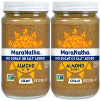 MaraNatha No Sugar or Salt Added Creamy Almond Butter, 12 oz