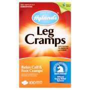 (2 pack) Hyland's Homeopathic Leg Cramps Caplets, 100 count