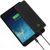 Tzumi PocketJuice 20,000 mAh Portable Charger (Black)