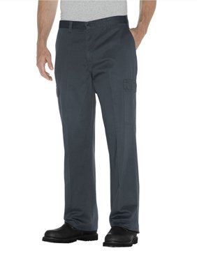 Big Men's Loose Fit Straight Leg Cargo Pants