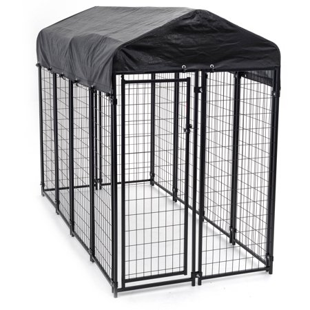 Lucky Dog Uptown Welded Wire Dog Kennel