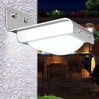 Ktaxon 16-LED Solar Powered PIR Motion Sensor Garden Security Light Wall Lamp Outdoor
