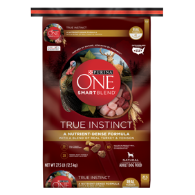 Purina ONE SmartBlend True Instinct Natural With Real Turkey \u0026 Venison Adult Dry Dog Food - 27.5 lb. OUT! Pet Care Disposable Female Diapers | Absorbent with Leak