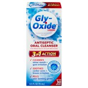 Gly-Oxide Liquid Antiseptic Oral Cleanser, 0.5 FL OZ
