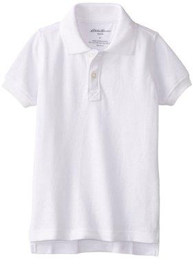 Boys School Uniform Short Sleeve Pique Polo Shirt