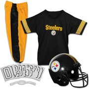 Franklin Sports NFL Pittsburgh Steelers Youth Licensed Deluxe Uniform Set 4d3e798a3
