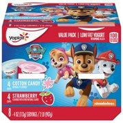 Yoplait Kids Yogurt Variety Pack Cotton Candy/Strawberry 8 Count