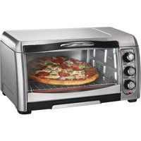 Hamilton Beach Stainless Steel Convection 6 Slice Toaster Oven Broiler | Model# 31333