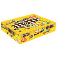 M&M's Peanut Milk Chocolate Candy, 1.74 Oz., 48 Count