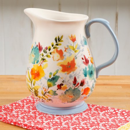 - The Pioneer Woman 3.2 Quart Willow Pitcher