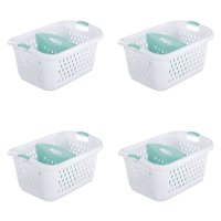 Sterilite, 2.2 Bushel/78 L Divided Laundry Basket, Case of 4