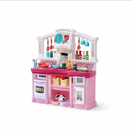 Step2 Fun with Friends Kitchen Pink With 24 Piece Accessory Set (step 2 lifestyle dream kitchen)