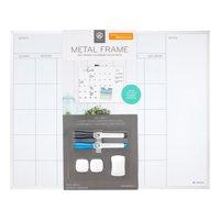 U Brands 16 x 20-inch Magnetic Dry-Erase Monthly Calendar Board