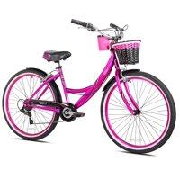 "Susan G Komen 26"" Women's, Cruiser Bike, Hot Pink"