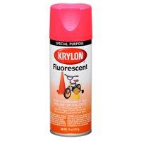 Krylon Fluorescent Paint Cerise, 11 oz