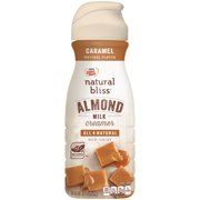 COFFEE MATE NATURAL BLISS Almond Milk Caramel All-Natural Liquid Coffee Creamer 16 fl. oz. Bottle