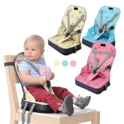 1c7b94b21726 Toddler Foldable High Chair Booster Seat Dining Feeding Chair Foldable Baby  Booster Seat With Harness Safety