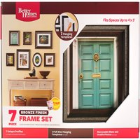Better Homes and Gardens Traditional 7 Piece Bronze Frame Kit