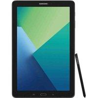 Samsung Galaxy Tab A 10.1 Tablet 16GB S Pen, Bluetooth - Black (SM-P580NZKAXAR)