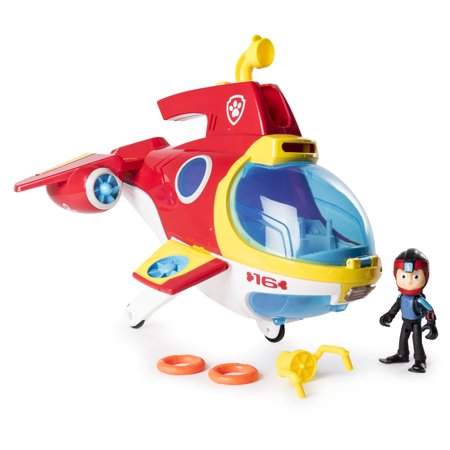 PAW Patrol - Sub Patroller Transforming Vehicle with Lights, Sounds and Launcher
