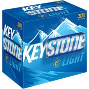 Keystone Light Beer, 30 pack, 12 fl oz
