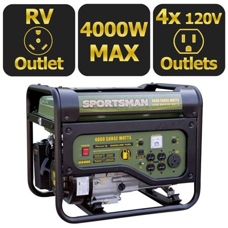 Sportsman Gasoline 4000W Portable Generator (Generator Price In India For Home Use)