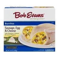 Bob Evans Burritos Sausage, Egg & Cheese - 6 CT14.4 OZ