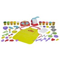 Play-Doh Kitchen Creations Super Chef Suite Food Set with 10 Cans of Dough & 30+ Tools in Frustration-Free Packaging