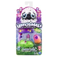 Hatchimals CollEGGtibles, Fabula Forest Hatchy Home Lightup Nest with Exclusive Season 4 Hatchimals CollEGGtible, for Ages 5 and Up