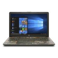 "HP 15 Camo Laptop 15.6"" , AMD Ryzen 3 2200U, AMD Radeon R3 Graphics, 1TB HDD, 4GB SDRAM, DVD, Realtree Edge Camo, 15-db0047wm"