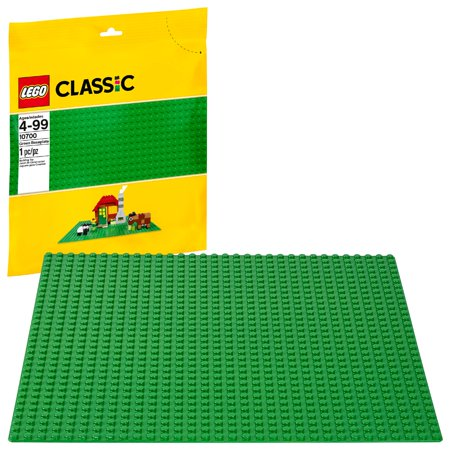 Logo Block - LEGO Classic Green Baseplate 10700 Building Accessory (1 Piece)