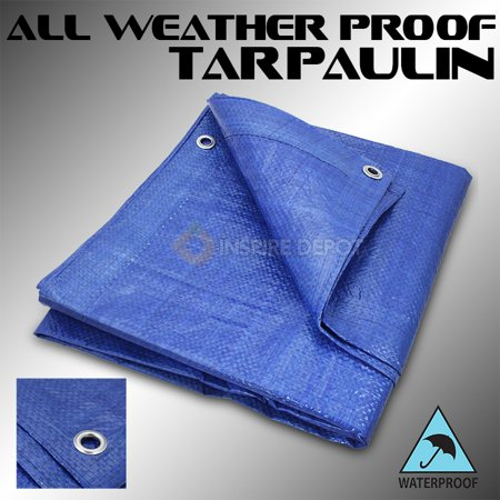 all Weather proof tents Tarpaulin Blue Tarp Cars Boats Swimming Pool Cover