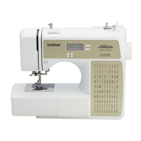 Brother CE1125PRW Computerized 100-Stitch Project Runway Sewing