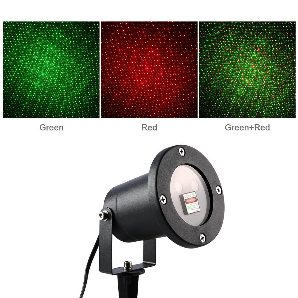 Laser Christmas lights Star Projector on Clearance - Frugal Family ...