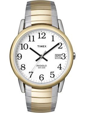 Timex Men's Easy Reader Two-Tone Stainless Steel Expansion Band Watch