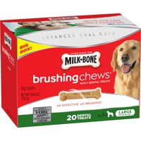 Milk-Bone Brushing Chews For Large Dogs, 26.9-Ounce
