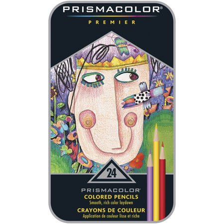 Prismacolor Premier Colored Pencils, 24 Count - Prismacolor Art Stix