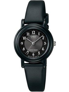 Casio Women's Casual Classic Black Analog Watch