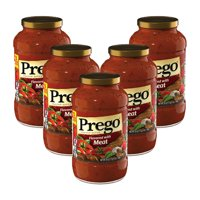 Prego Italian Sauce Flavored with Meat Sauce, 24 oz.