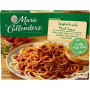 Marie Callender's Frozen Dinner, Spaghetti with Meat Sauce, 15 Ounce