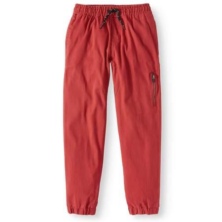 stretch twill jogger pant (big boys)](Boys Red Dress Pants)
