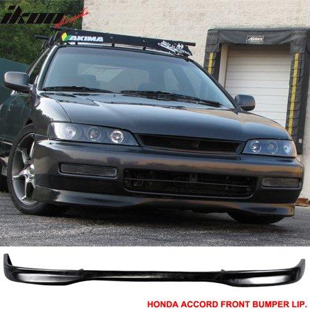Fits 96-97 Honda Accord DX T-R PP - Polypropylene Front Bumper Lip Spoiler Body Kit 96 97