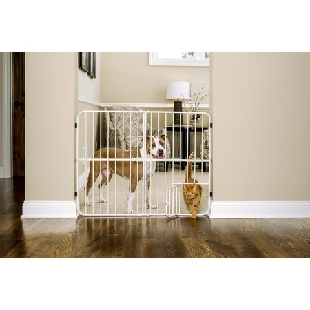 Extra Tall Metal Expandable Pet (Adjustable Pet Gate)