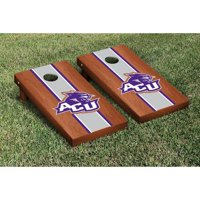 Victory Tailgate NCAA Rosewood Stained Cornhole Game Set